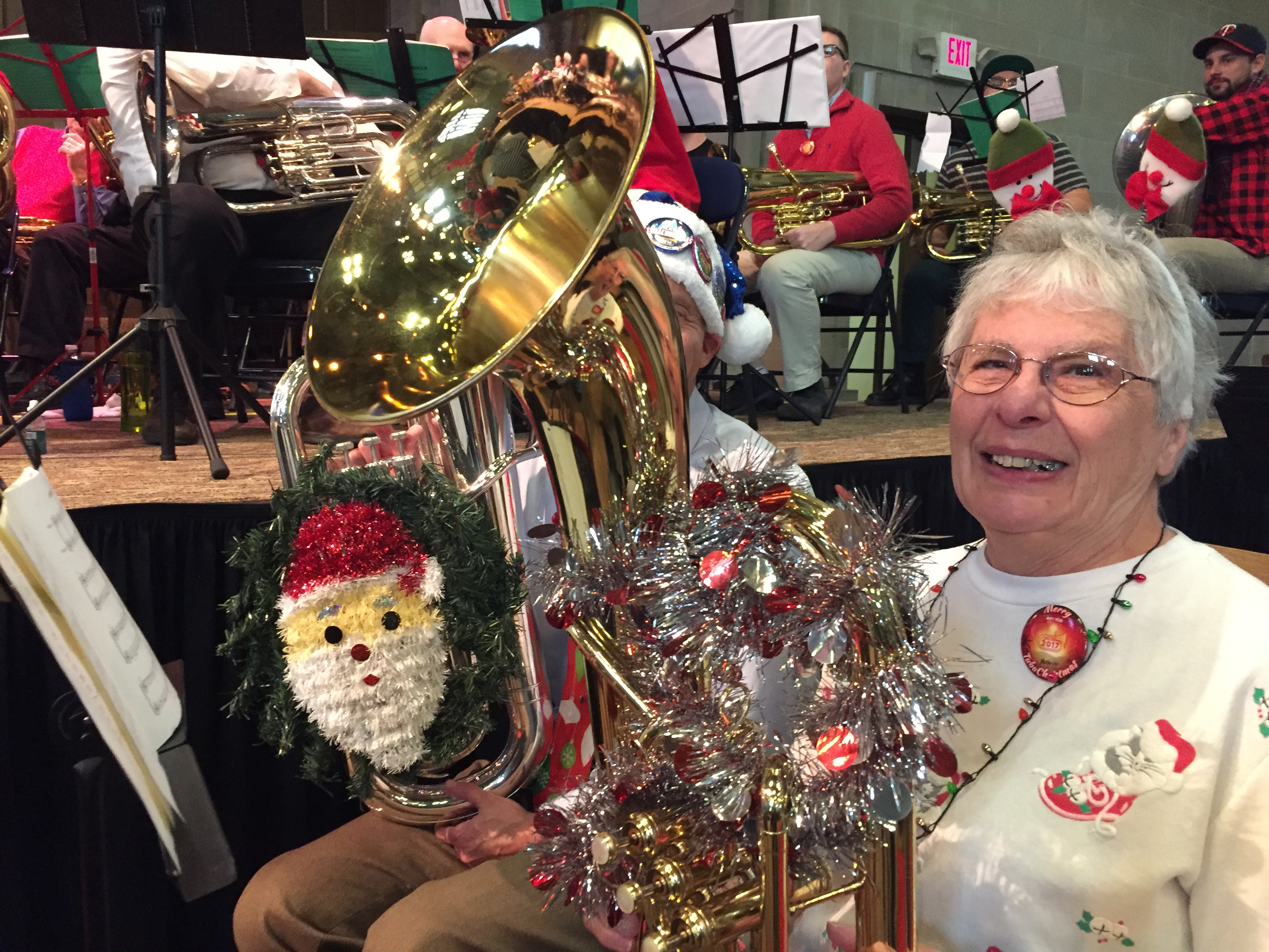 Tuba Christmas.Tuba Christmas 2018 In Northfield Save The Date Vintage