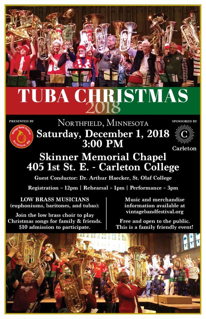 Tuba Christmas.Tuba Christmas 2018 Vintage Band Festival