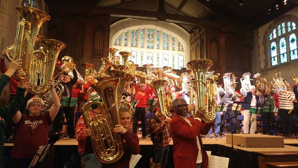 Tuba Christmas 2020 in Northfield has been cancelled | Vintage